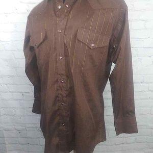 Panhandle Slim L/S  Western Shirt Sz 16-33